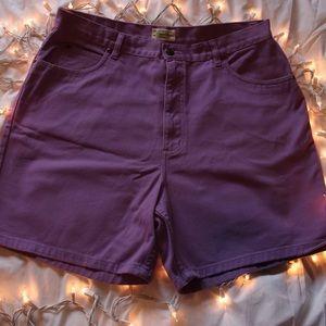 Cute Purple Shorts